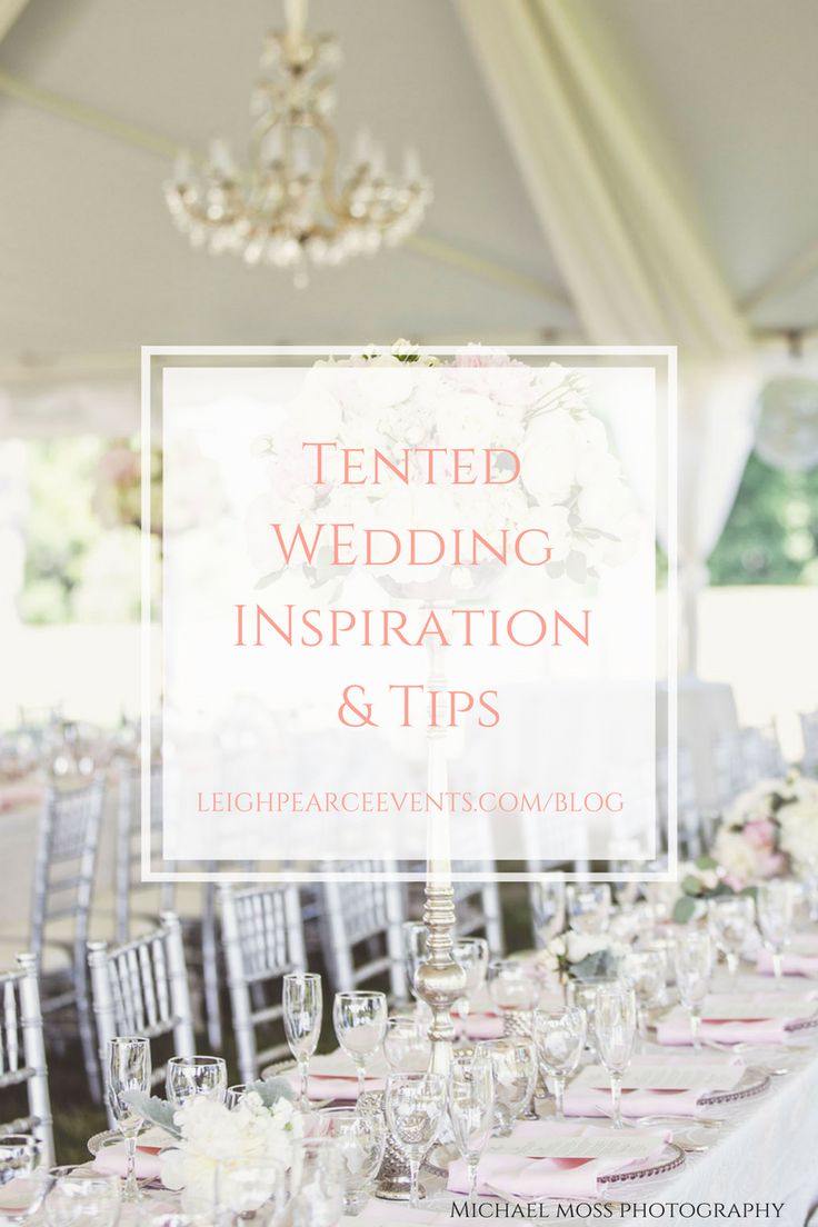 Tips For Your Private Property Or Outdoor Tented Wedding
