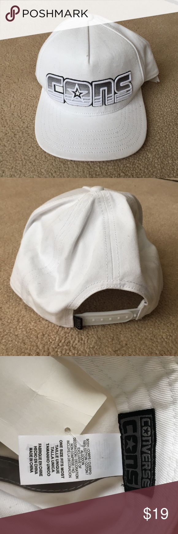 NWT Converse classic hat snapback white NWT Converse classic hat snapback white Converse Accessories Hats