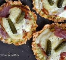 Recette - Tartelettes de pommes de terre à la raclette - Proposée par 750 grammes