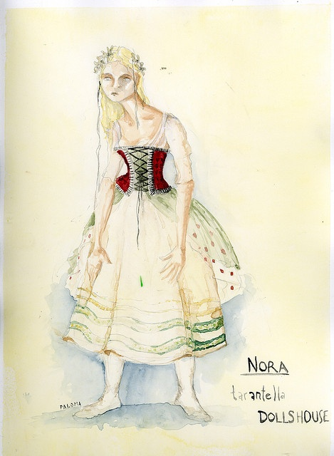 A doll s house nora s dress style