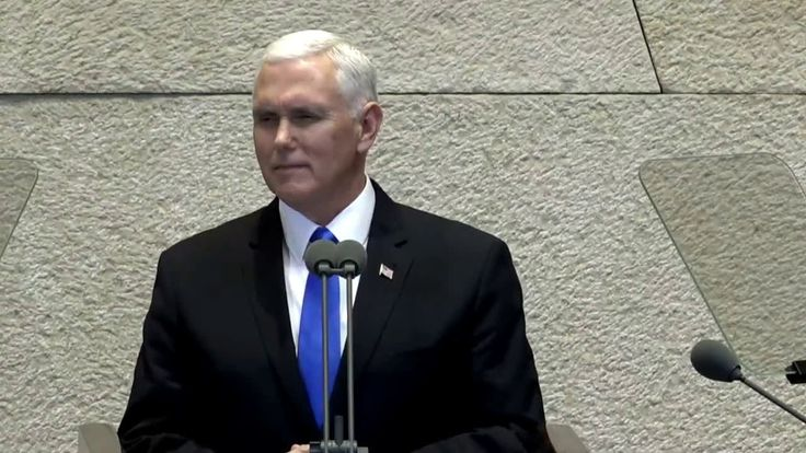 "US Vice President Mike Pence recites the Hebrew ""shehecheyanu"" blessing"