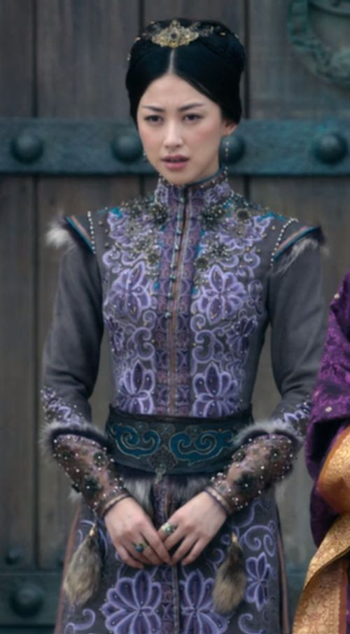Kokachin outfit from season two, episode four of Marco Polo