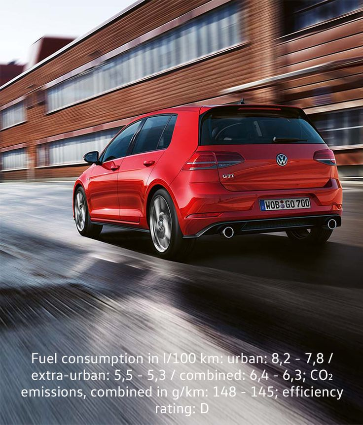 Attirant This Photograph Of The Volkswagen Golf GTI Driving Past A Building Complex  At High Speed Shows