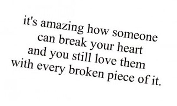 Loving With a Broken Heart