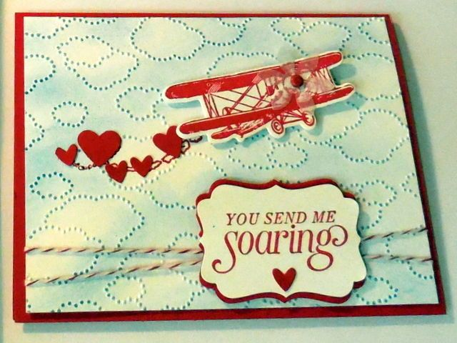 Stampin Up Sky is the Limit clear set & matching dies by dave Airplane Soaring  in Crafts, Stamping & Embossing, Stamps | eBay