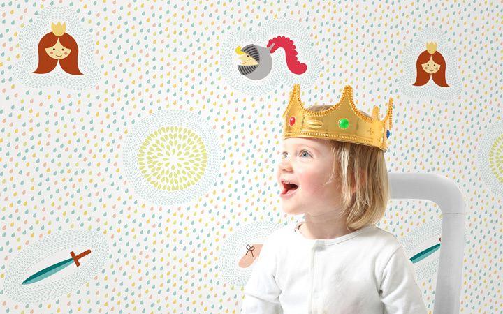 Tapete+Fairytale,+for+her+/+for+him+von+Designstudio+DecorPlay+auf+DaWanda.com