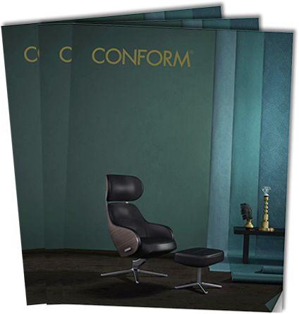 En fåtölj från Conform är en välgjord fåtölj av högsta kvalitet
