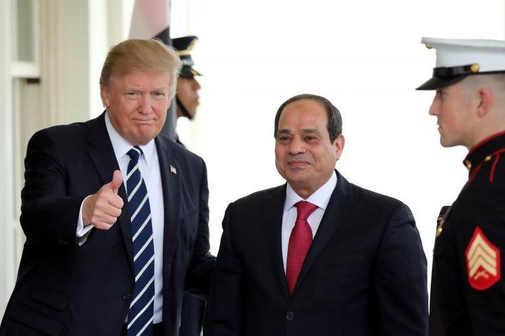 #Trump tells #Sisi U.S., Egypt will fight Islamic militants together http://www.reuters.com/article/us-usa-egypt-idUSKBN1751WT United States