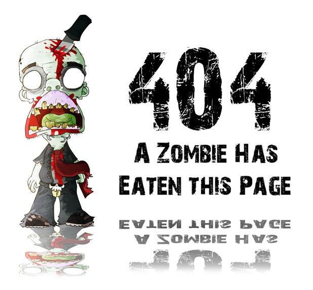 Versión 404 de miedo