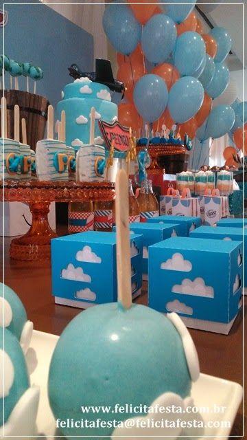 Felicità Festa: Festa Aviões da Disney do Pedro