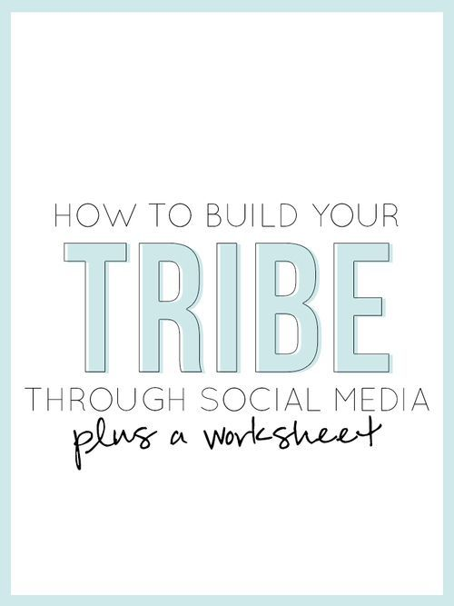 How To Build Your Tribe Through Social Media PLUS a Worksheet — The Alisha Nicole