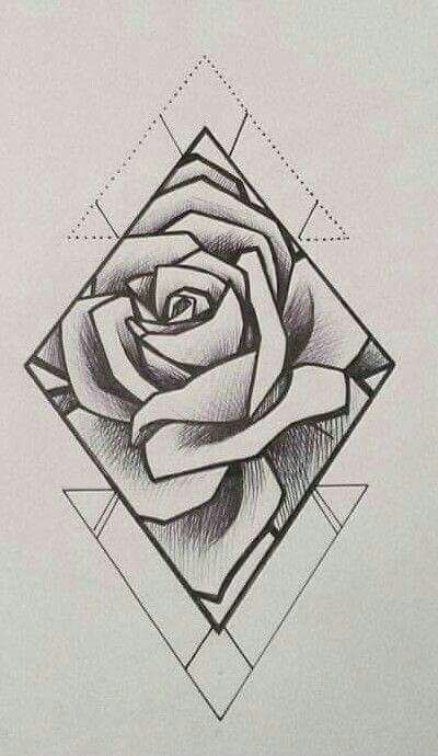 rose drawing ideas