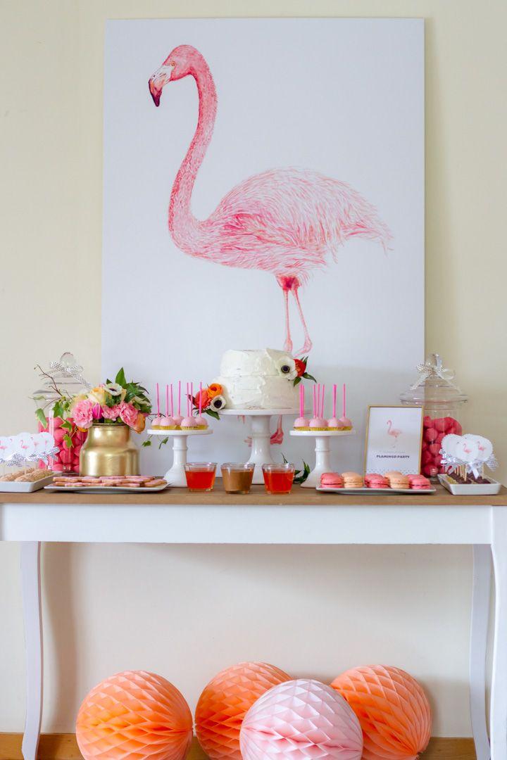 Flamingo Party :: 7º Aniversário Leonor « Por Magia Por Magia