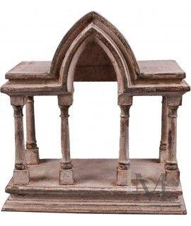 Półka Temple drewniana