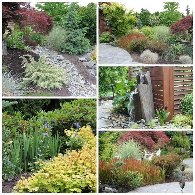 Good examples of what I want in my front yard. Many view ... on Zen Front Yard Ideas id=39938
