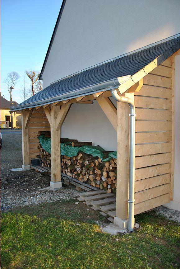 """Bonjour  Je me suis lance la semaine derniere dans la construction dun abri bois.  Il est adosse a un mur de la maison protege des vents dominants.  Il mesure 5.2 m de long sur 1.2 de profondeur. Dapres ...... (Forum """"Terrasses, clotures et autres aménagements extérieurs"""" - 16 messages)"""
