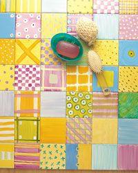 Dipingere su ceramica. Come decorare con gli specifici colori che non necessitano di cottura.