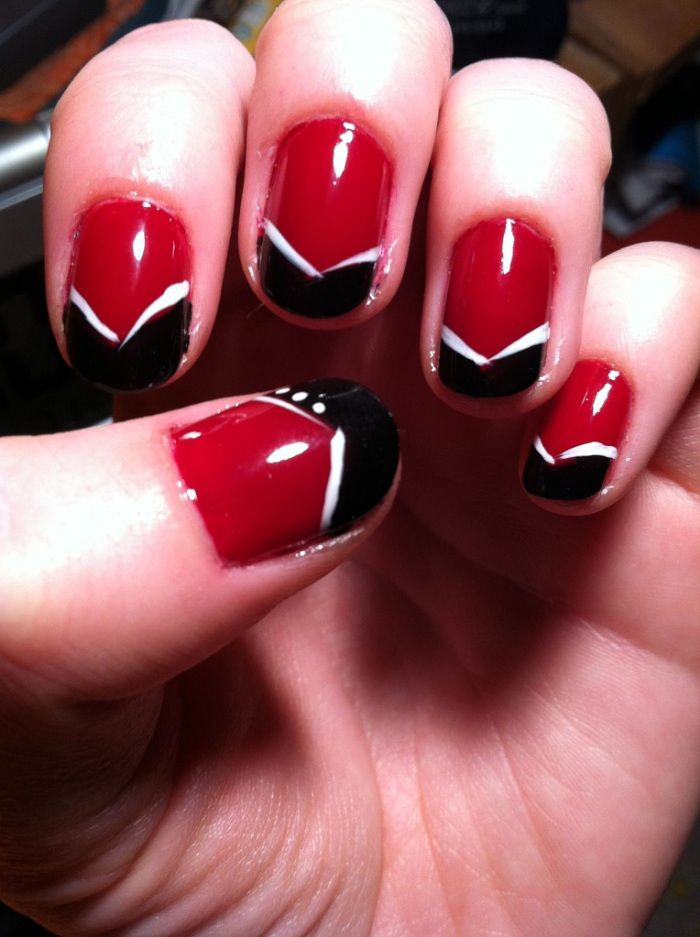 Red Nail Polish Design Ideas Hession Hairdressing