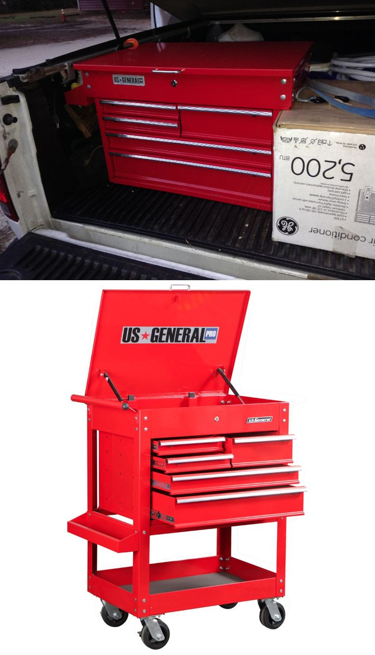 Truck Bed Tool Box from Harbor Freight tool cart. Not too