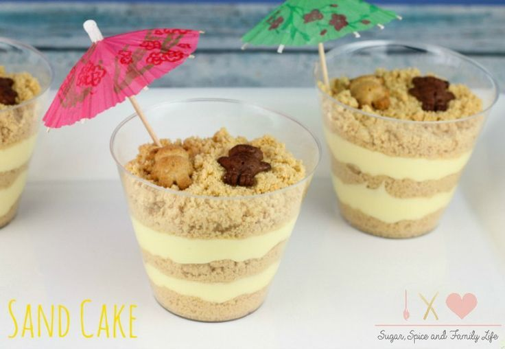 Golden Oreo Sand Cake Recipe