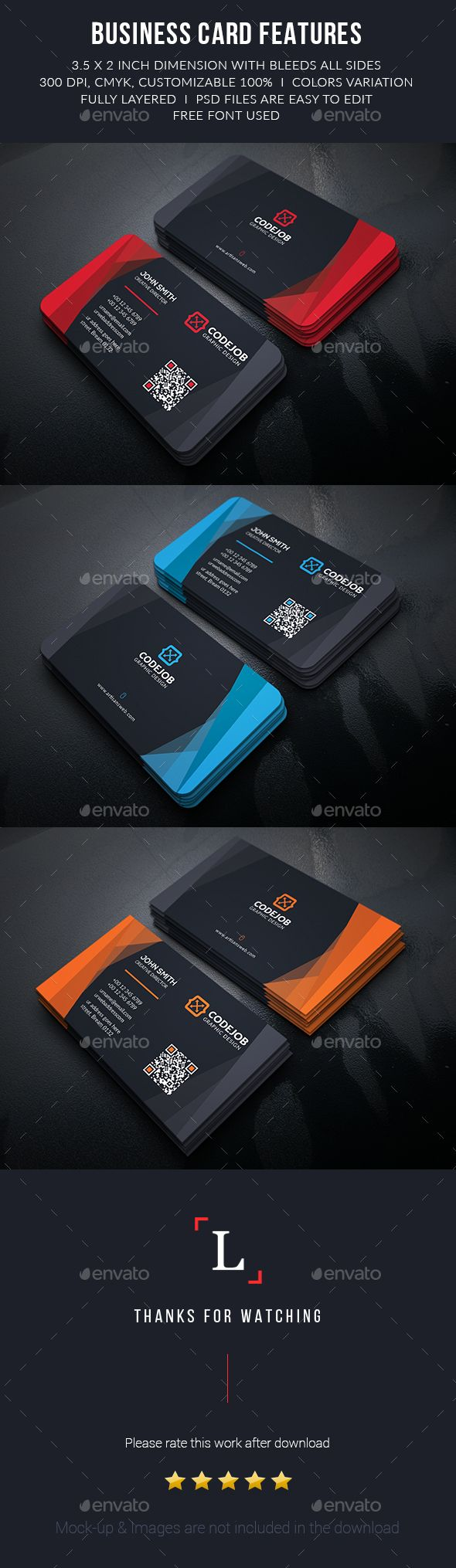 Abstract Corporate Business Cards Template #design Download: http://graphicriver.net/item/abstract-corporate-business-cards/13577103?ref=ksioks