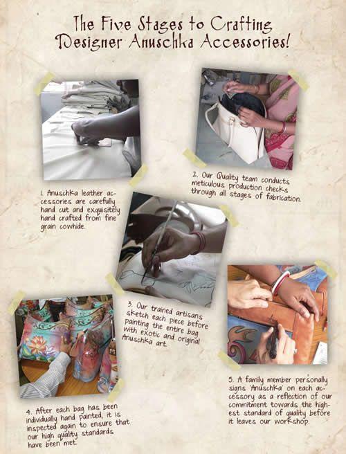 The Story of Anuschka Handbags