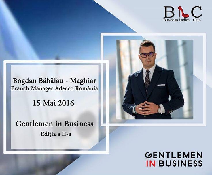 Bogdan Babalau-Maghiar se numără printre speakerii care și-a rezervat biletul la clasa Business, pentru a fi alături de noi, la Gentlemen in Business 2nd edition.  Dacă încă nu ți-ai rezervat biletul, accesează http://www.businessladiesclub.com/inscrieri/