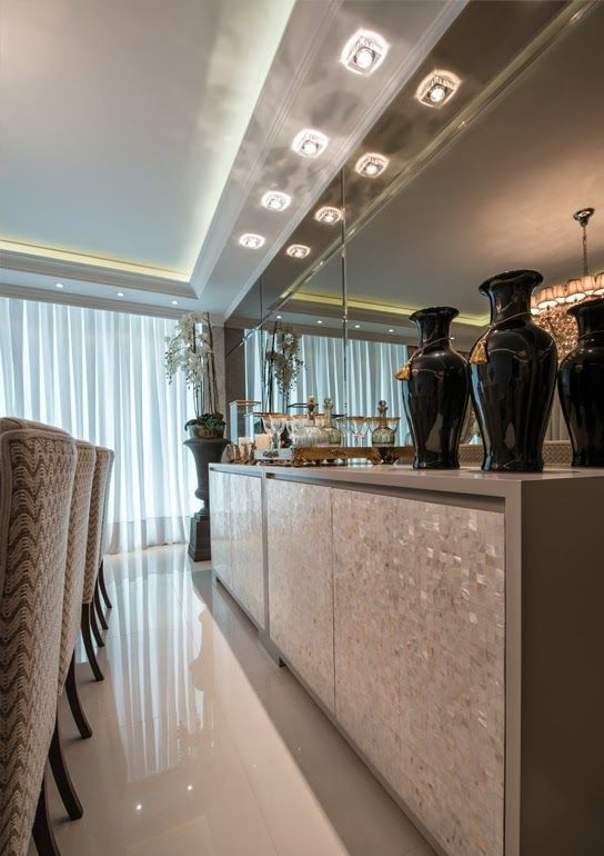 Madrepérola na decoração – veja ambientes maravilhosos com essa joia   dicas!