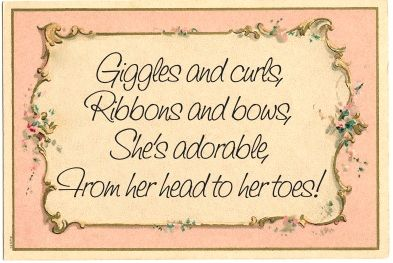 Ribbons and Bows quote
