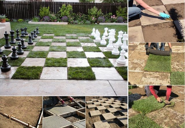 How to Create a Chessboard Patio in 5 Steps