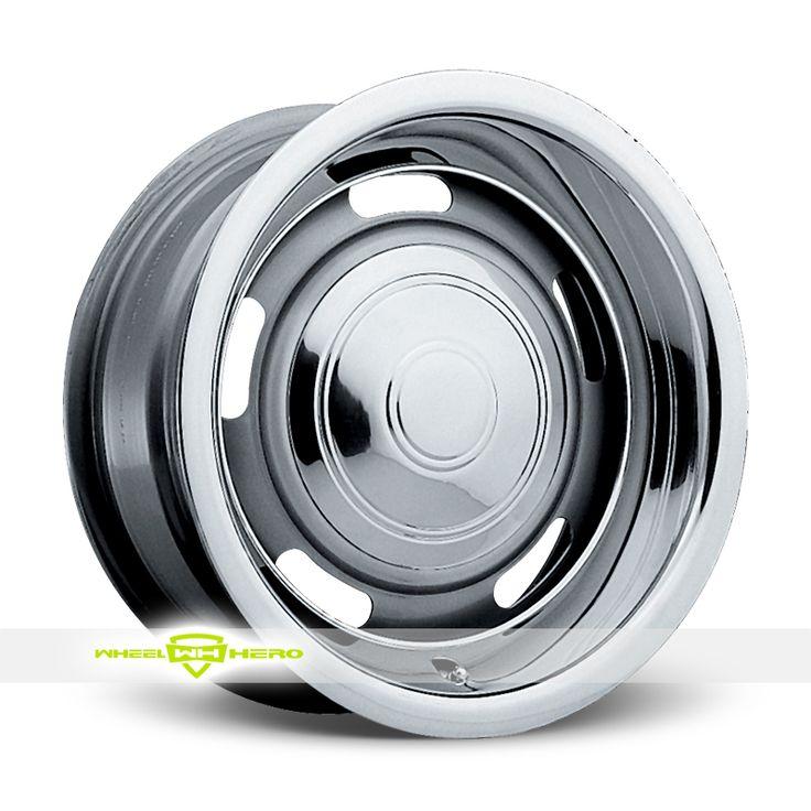 Pacer 144S Rallye Silver Wheels For Sale - For more info: http://www.wheelhero.com/customwheels/Pacer/144S-Rallye-Silver