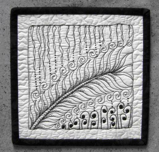 95 best images about zentangle quilts on Pinterest Feathers, Quilt and Zentangle patterns