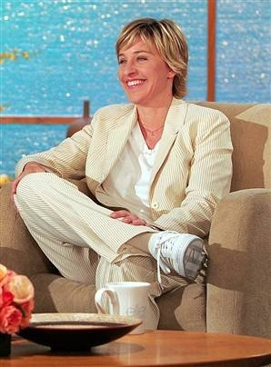 Ellen Degeneres - goofy but a very kind-hearted and generous soul