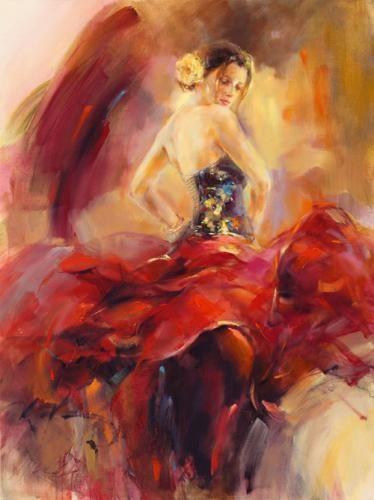 anna razumovskaya paintings | roses and raspberries: Artist Spotlight: Anna Razumovskaya