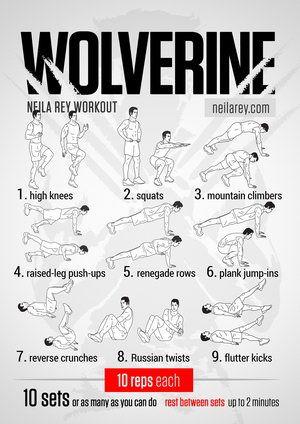 Free Visual Workouts