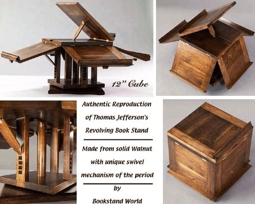 10 best book stand images on pinterest book stands furniture jefferson revolving book stand wish id have had one of these malvernweather Images