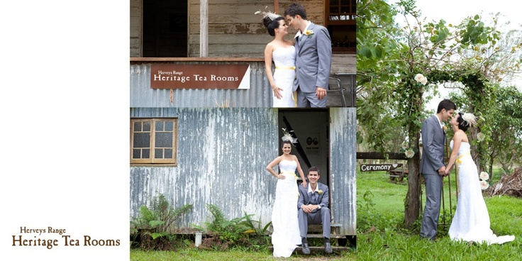 Can't wait for my wedding at the Hervey Range Tea Rooms!