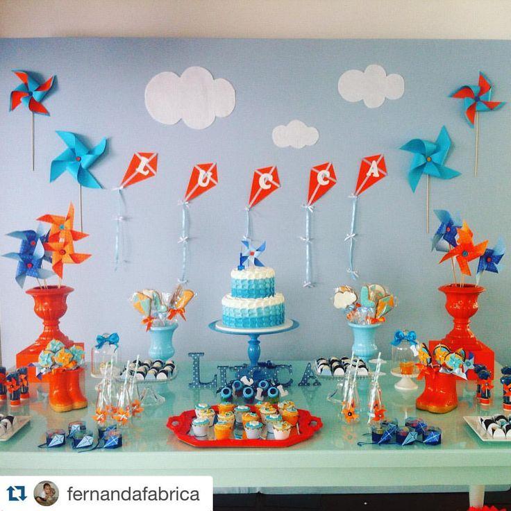 Festa de 1 ano do Lucca com nossos bolo e doces, decor linda da Fábrica de detalhes #Repost @fernandafabrica with @repostapp. ・・・ Lucca 01 ano! Obrigada cliente mais que especial @dallacquamari felicidades pro seu pituco! @popmobilelocacao @crissfestass painel @dolcefavola