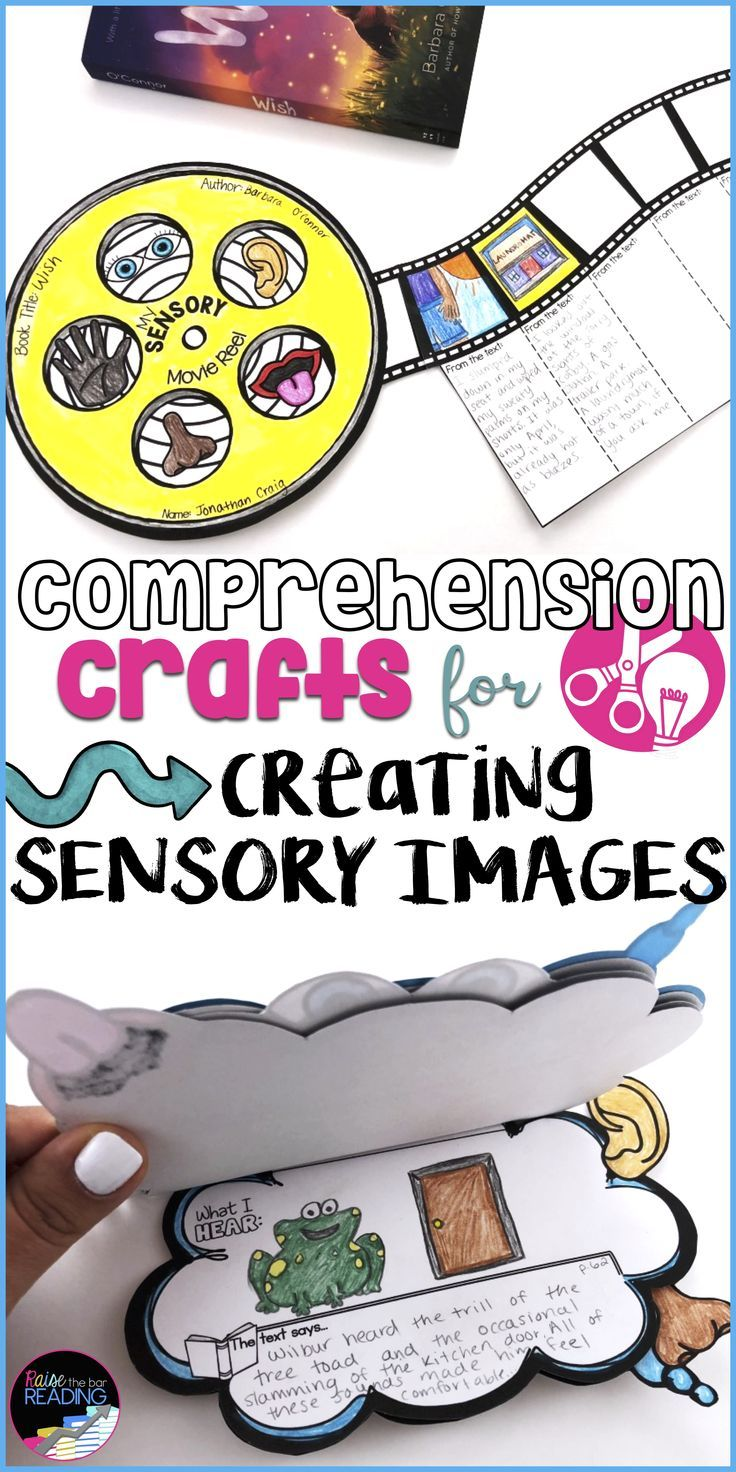 These Creating Sensory Images Reading Activities Are Great For Teaching Reading Strategies In Elementa Sensory Images Reading Comprehension Comprehension Craft [ 1472 x 736 Pixel ]