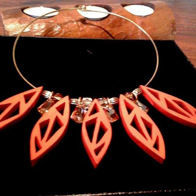 I'm in love with this #necklace !! Have a great and #fashionable month…