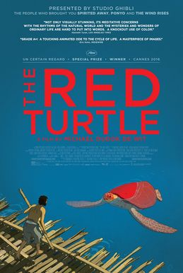 "The Red Turtle  (2016) PG   This animated film about a castaway stuck on a deserted island populated by turtles, crabs, and birds, is making a lot of critics' ""Best of the Year"" lists. https://lastonetoleavethetheatre.blogspot.com/2017/01/a-monster-calls.html"