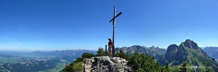 Breitenberg (1.838 m) in den Allgäuer Alpen
