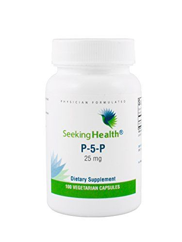 """P-5-P or pyridoxal 5'-phosphate is known as the """"active"""" or """"coenzyme"""" form of vitamin B6. This is because the P-5-P form of B6 is directly used in B6-dependent enzyme functions within the body. In fact, vitamin B6 and P-5-P are needed for more than 100 enzymes –... more details at http://supplements.occupationalhealthandsafetyprofessionals.com/vitamins/vitamin-b/vitamin-b6/product-review-for-p-5-p-pyridoxal-5-phosphate-25-mg-active-vitamin-b6-s"""