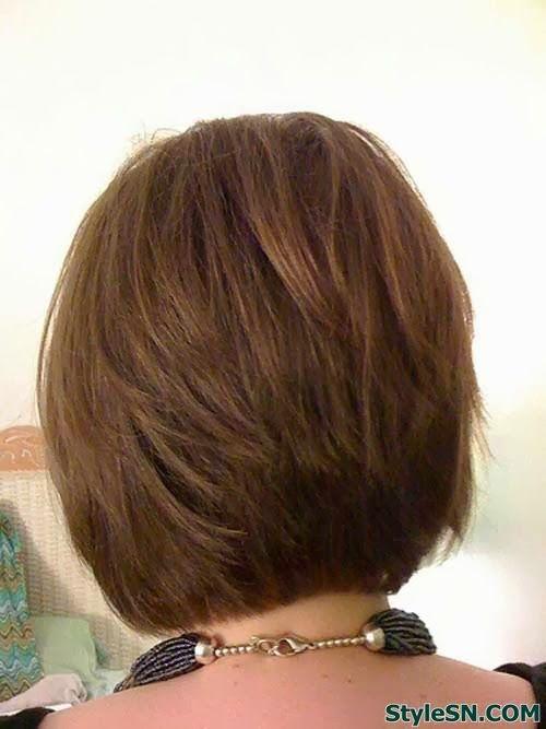 Short layered bob hairstyles 2014 StyleSN Beauty Ideas Pinterest