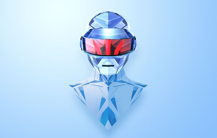 Daft Punk's Thomas by Justin Maller #Helmetica