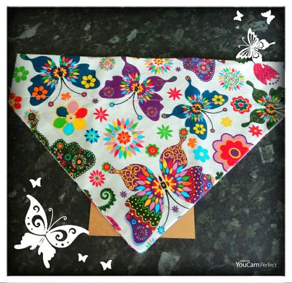 Check out this item in my Etsy shop https://www.etsy.com/uk/listing/280251128/medium-dog-bandana-slip-over-collar