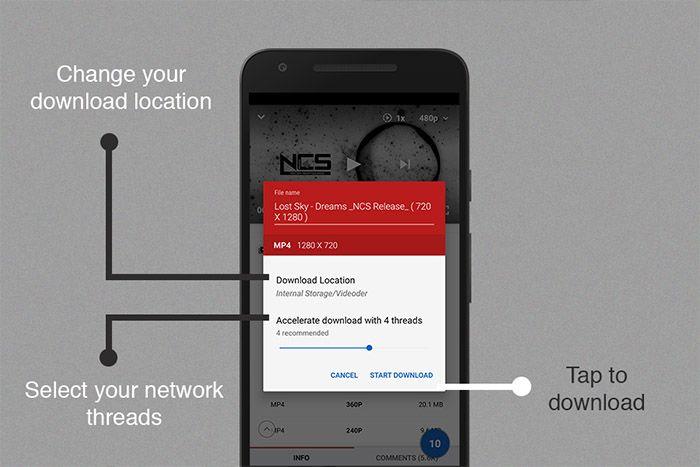 Download Vidio Menggunakan Aplikasi Videoder Apk Downloader Android Tekno Bytes Aplikasi Android Youtube