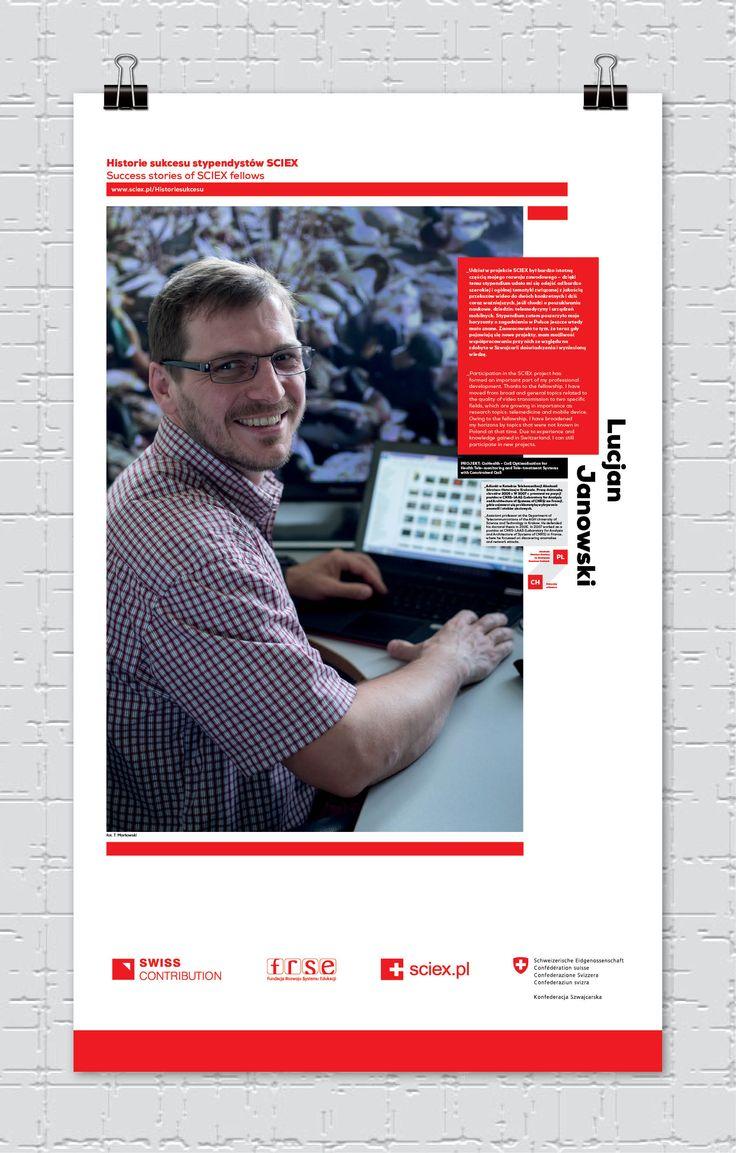 Lucjan Janowski,  stypendysta SCIEX/ SCIEX fellow