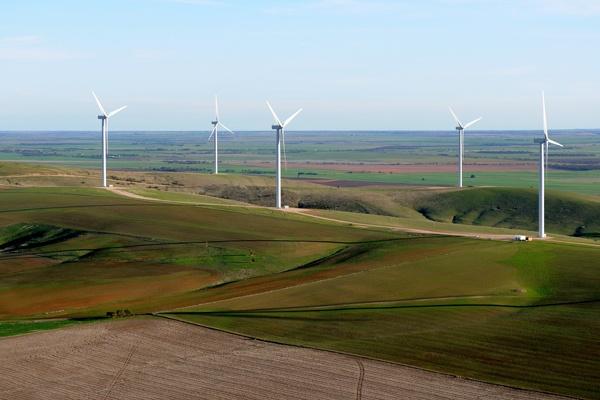 #Wind farm at Clements Gap, South Australia  #renewable #energy