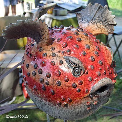 Fliegender Kugelfisch